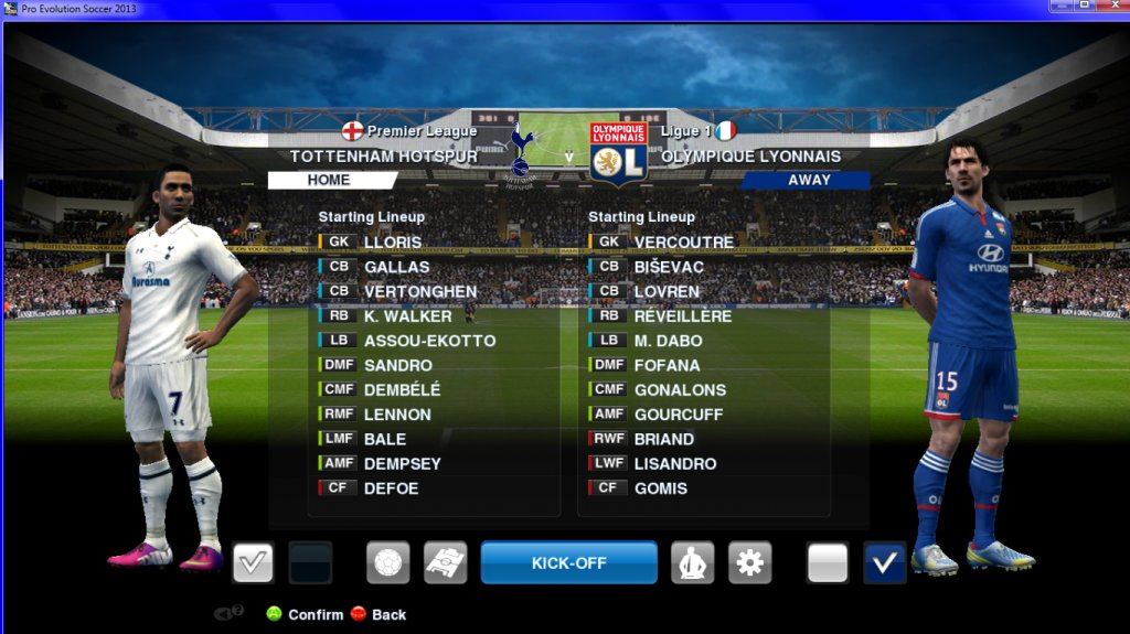 Epl Match White Hart Lane Bridge Pes