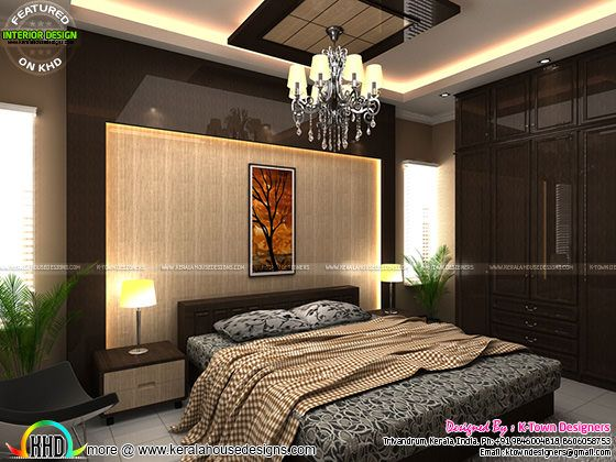 Bedroom interior by K-Town Designers
