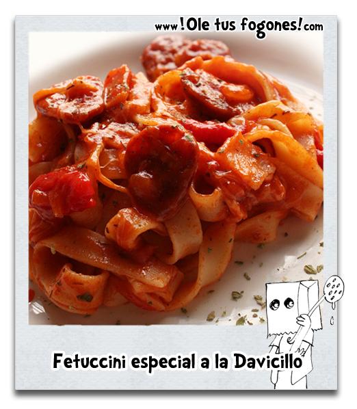 Fetuccini especial a la Davicillo