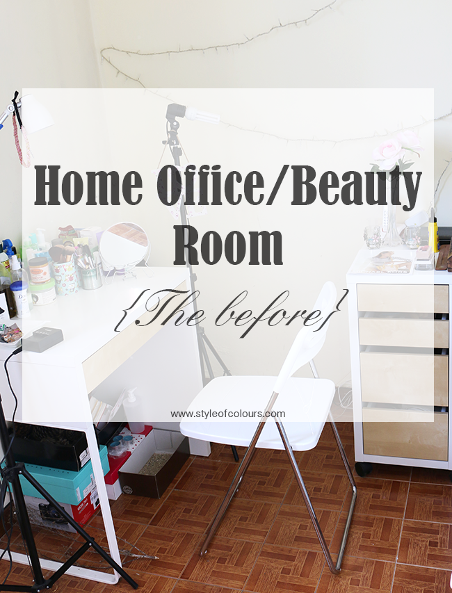 Home Office, Beauty Room, Woman cave - The Before