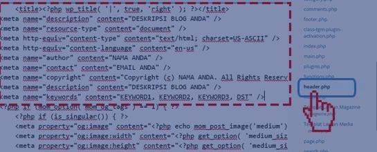 Cara Mudah Memasang Meta Tag Seo Friendly Pada Wordpress