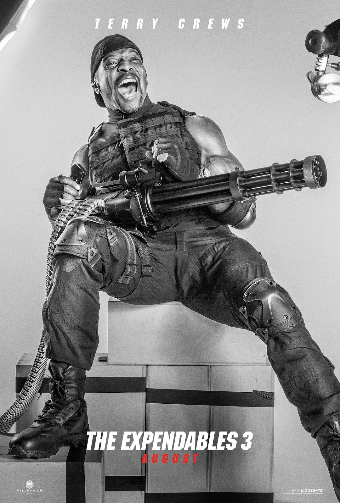 reel talk online expendables 3 character posters and