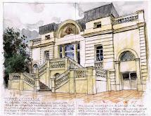 Dibujos-croquis-apuntes La Torre Jussana El Arquitecto
