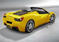 Ferrari 458 Italia jaune