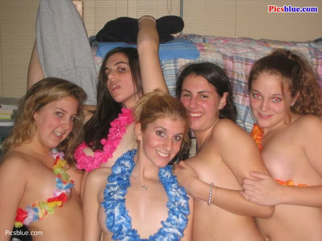 drunken college girls