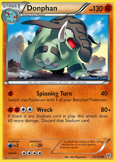 Donphan Plasma Storm Pokemon Card