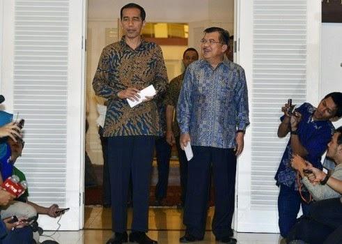 Jokowi-JK Rampungkan 34 Calon Menteri