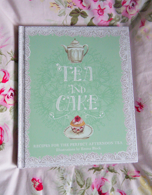 tea and cake illustrated book