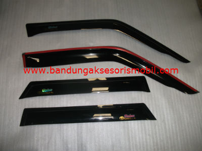 Talang Air Corolla GL Original Black Depan Belakang