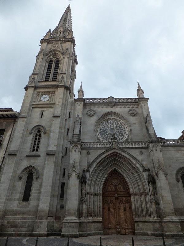 espagne bilbao vieille ville cathédrale