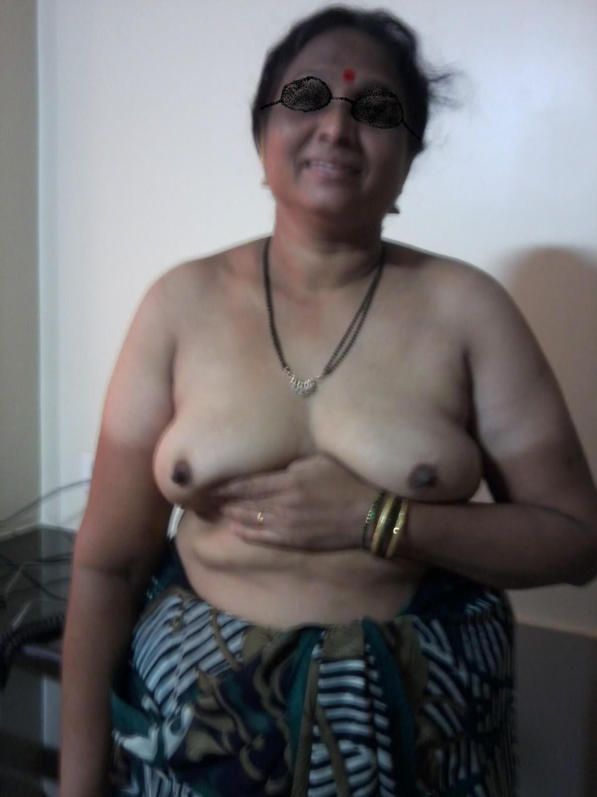 old man spanks naked woman