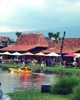 Berkano di Lembang Floating Market