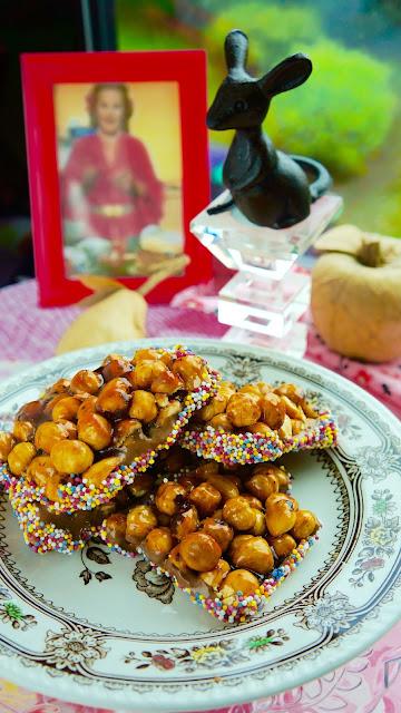 Fanny Cradock Chocolate Hazelnut Rectangles