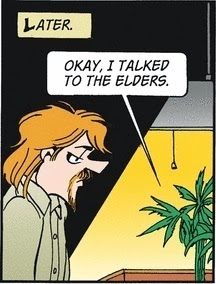 Doonesbury: The Plant Whisperer.