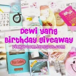 Dewi Yang Birthday Giveaway
