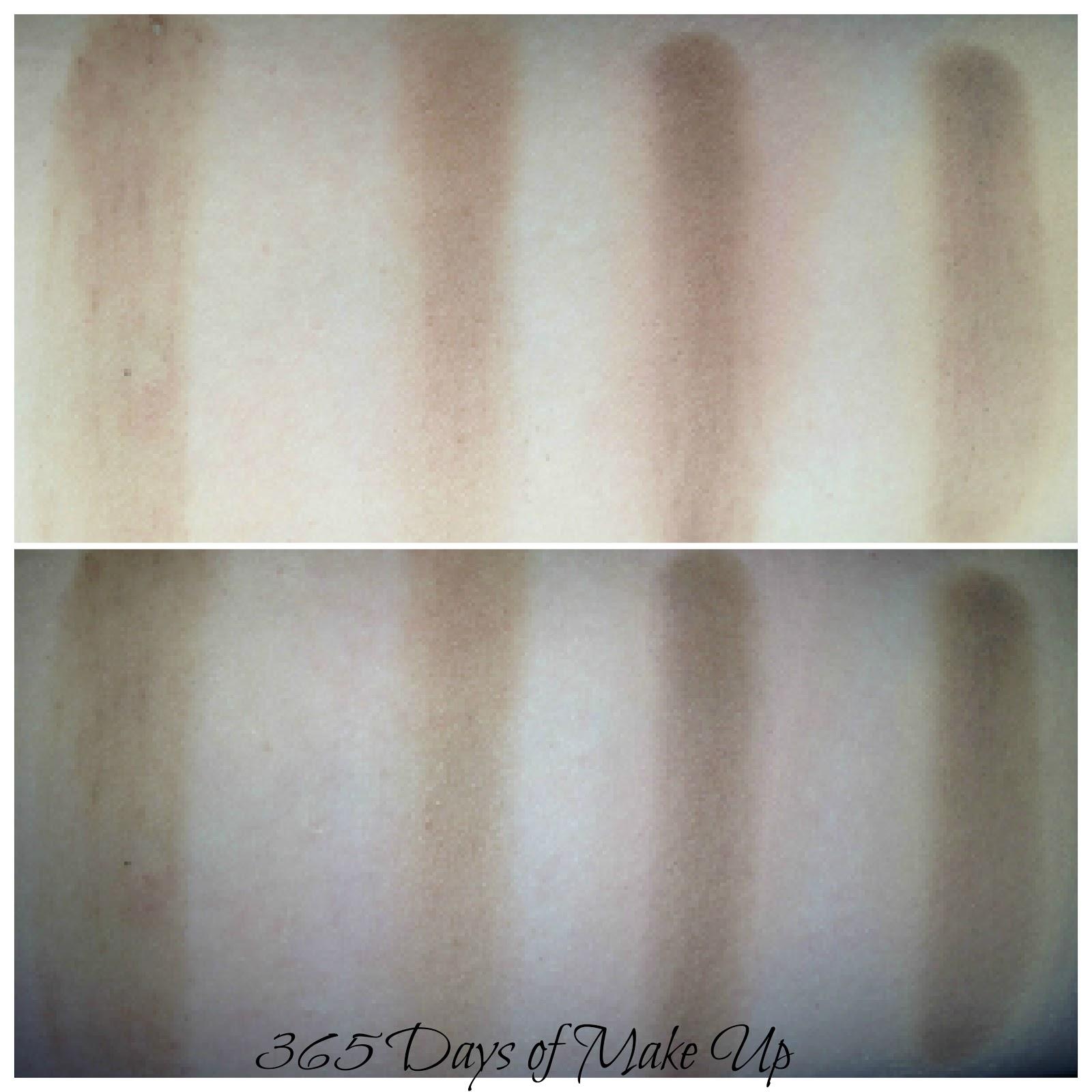 365 Days Of Make Up Day 46 Eye Primer Base Comparison