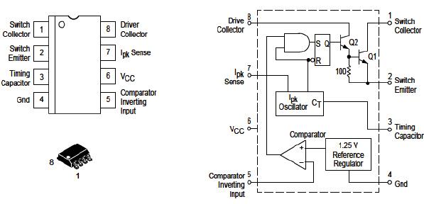 Hình 8c - IC điều khiển mạch hạ áp từ 14V xuống 3.3V