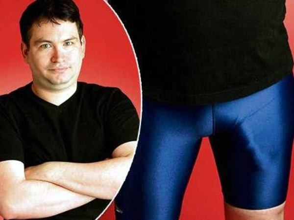 Jonah Falcon, 41, aroused suspicion when eagle-eyed guards from the