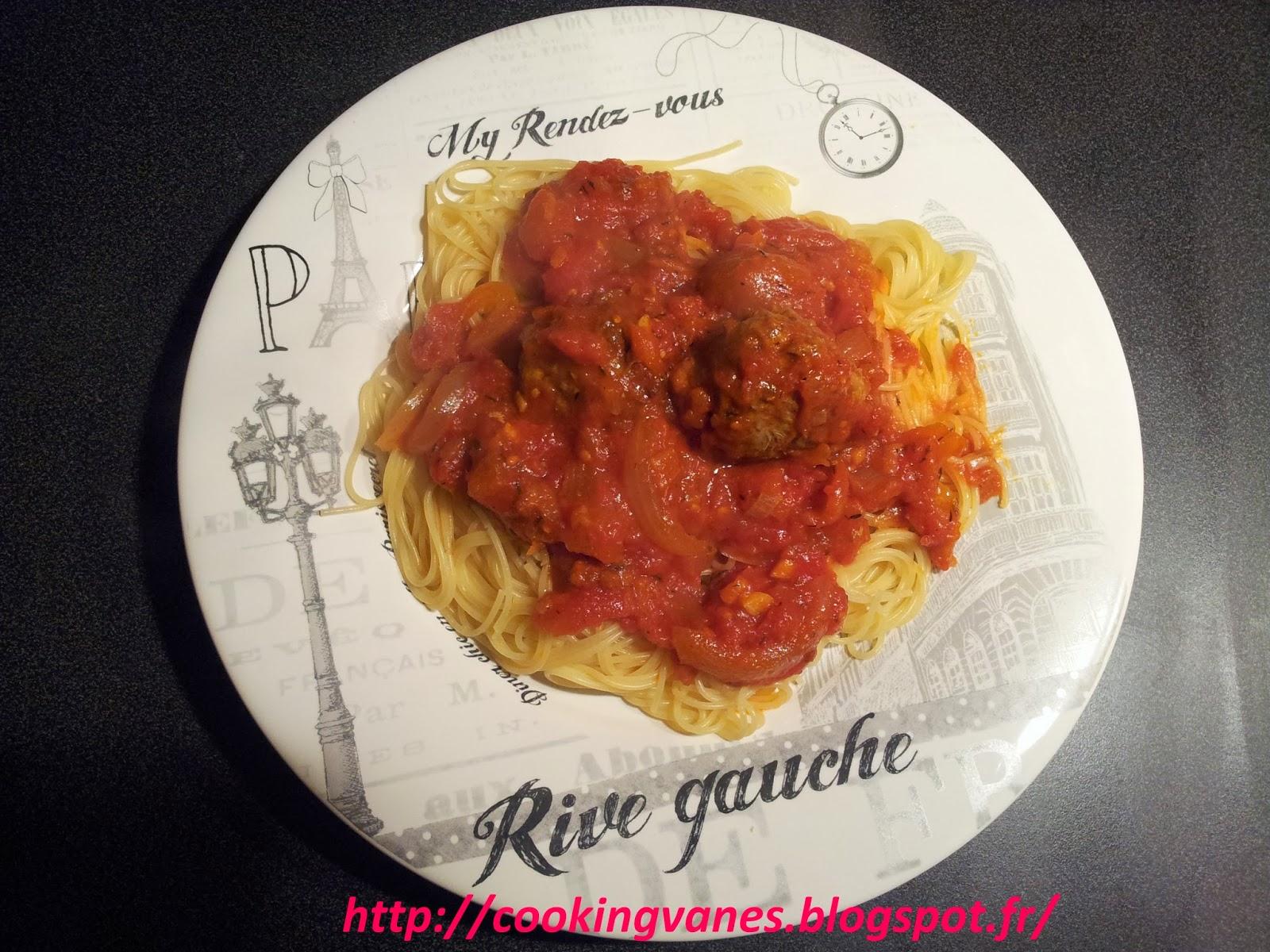 la cuisine de mimi boulettes de viandes 224 la sauce tomate maison