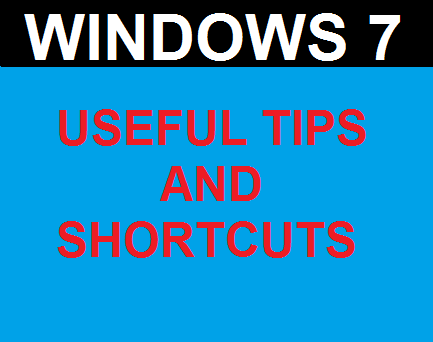 Windows 7-Essential Tips-Short-Cuts 01 to 10