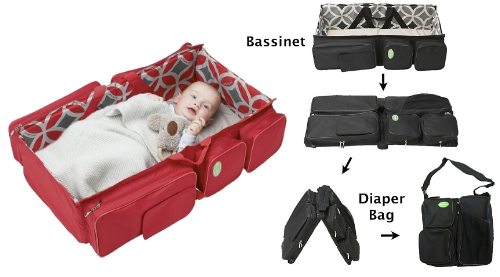 Bassinet Diaper Bag1