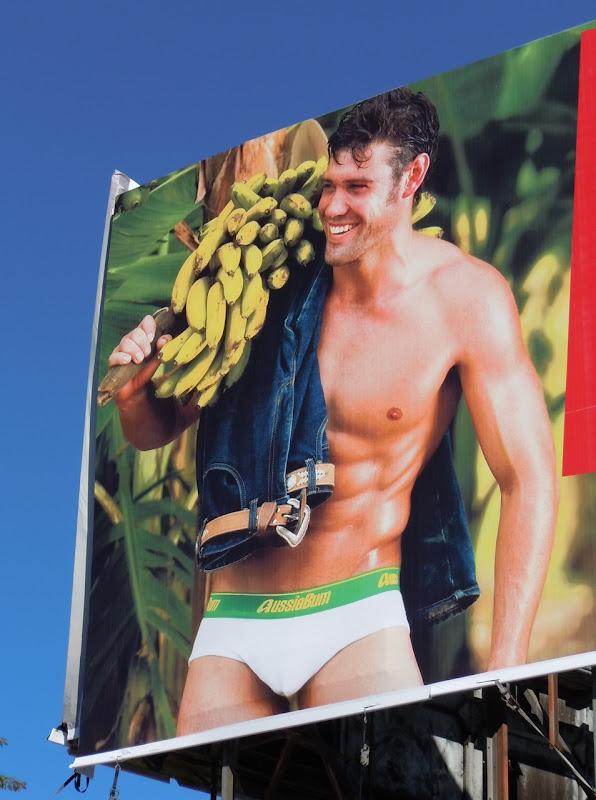 AussieBum banana male underwear model