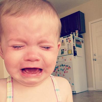 Madeline crying