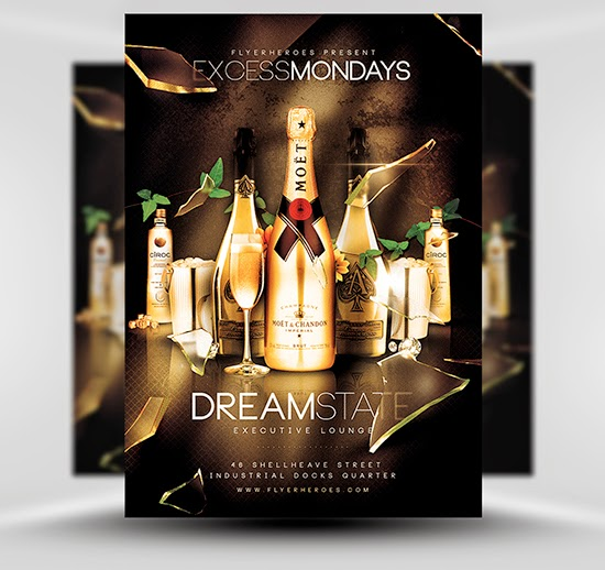 Free Flyer Friday 83 Excess Mondays Flyer Template Psd Ifree
