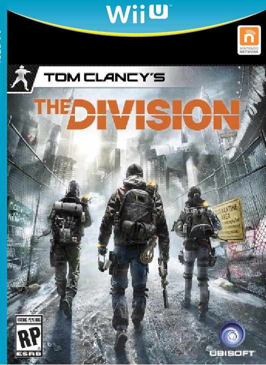 Tom Clancy's The Division Wii U cover. (Fake)