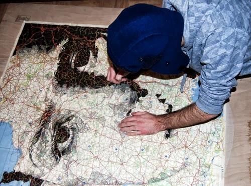 01-Ed-Fairburn-Drawing-Welsh-Freelance-Artist-Ed-Fairburn-Map-Portraits-www-designstack-co