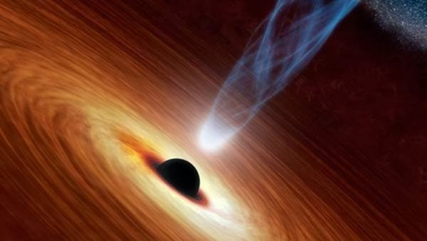 black hole destroying a planet - photo #24