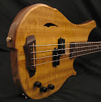 Solid 4 Bass / Walnut & Myrtle wood