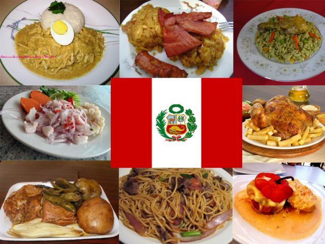 Comida Perú.