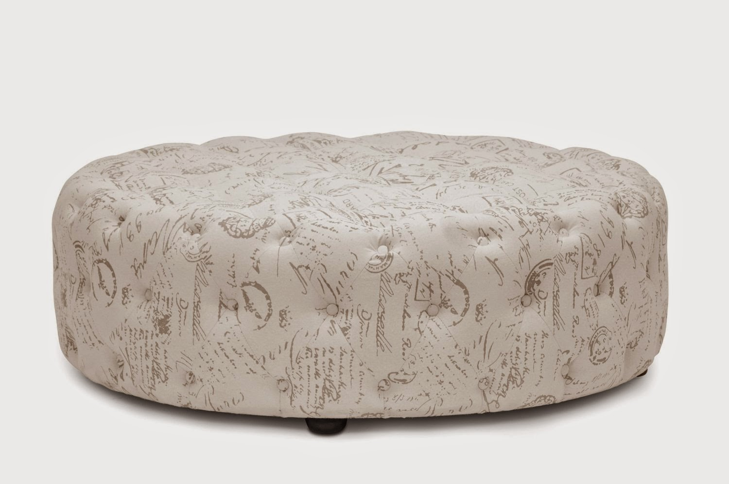 Round Ottoman Coffee Table Part - 46: Round Ottoman Coffee Table
