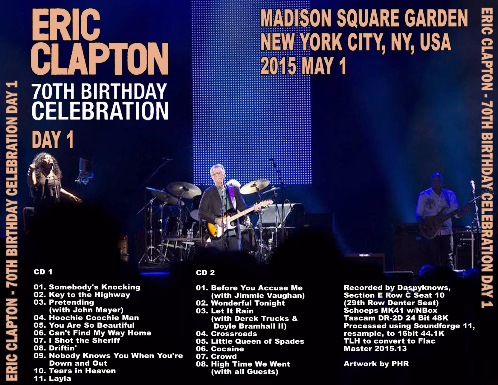Live From Madison Square Garden Eric Clapton And Steve Autos Post