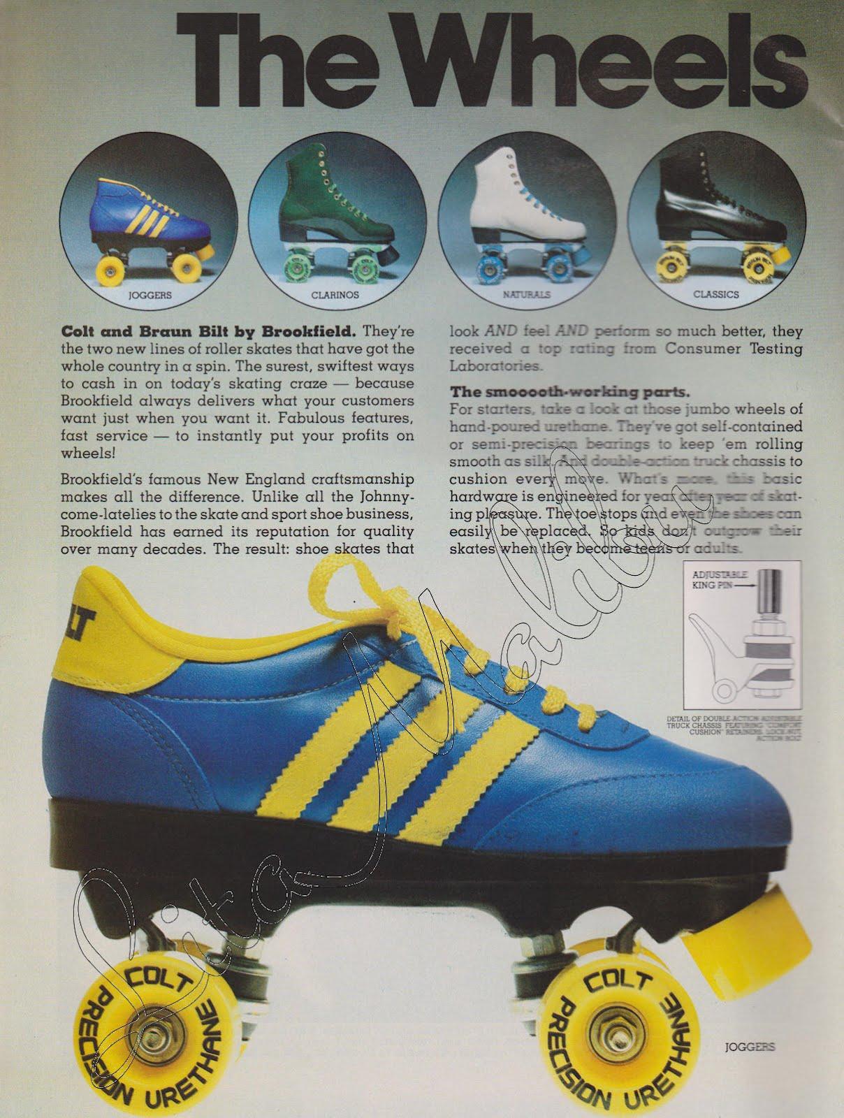 Roller skates in the 70s - Roller Skating Magazine October 1979