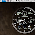 Conky Cronograph Station: An Elegant Desktop Clock with Local Weather For Ubuntu 12.04/11.10