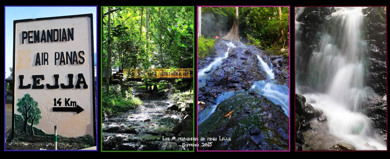 Lejja, Permandian Menyehatkan di Tengah Hutan