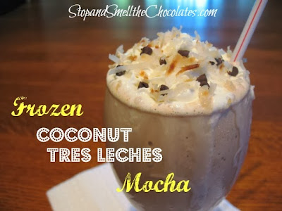 http://www.stopandsmellthechocolates.com/2013/07/frozen-coconut-tres-leches-mocha.html