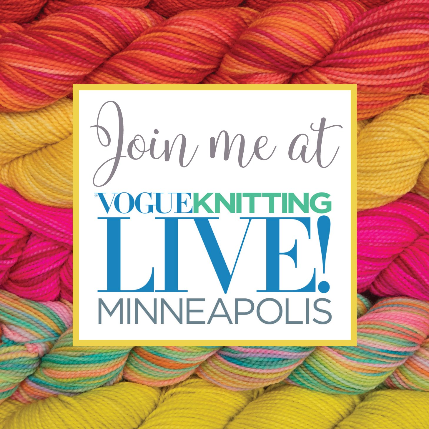 Vogue Knitting Live Minneapolis!