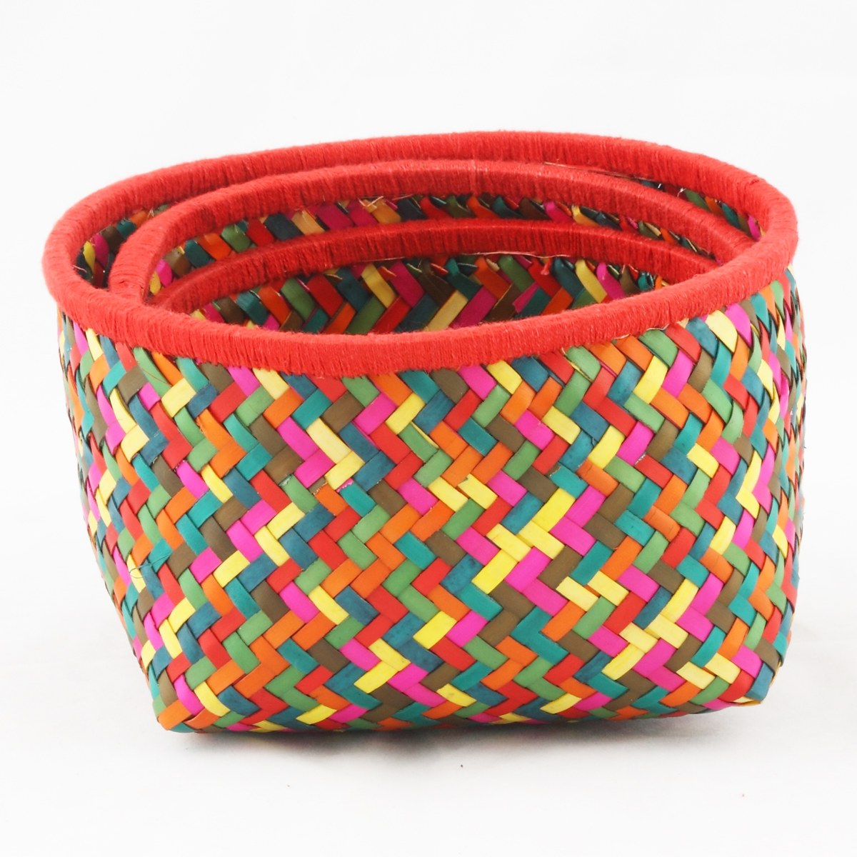 The Cultural Heritage of India: * Colourful Kottan Baskets ...