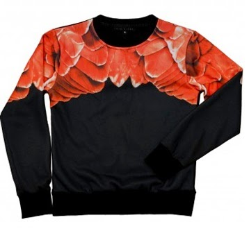 http://asmblyboutique.com/store/products/salmon-feathered-crewneck-2/