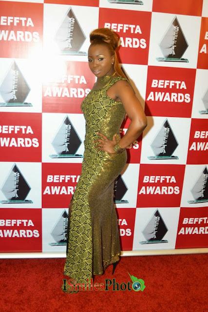 Mary Shittu (@ MaryShittu) scoops two Beffta Awards
