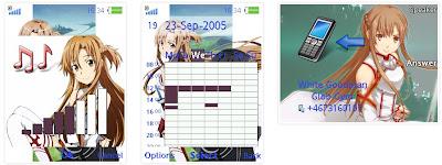 「刀劍神域」SonyEricsson手機主題for Elm/Hazel/Yari/W20﹝240x320﹞「刀劍神域」SonyEricsson手機主題for Elm/Hazel/Yari/W20﹝240x320﹞