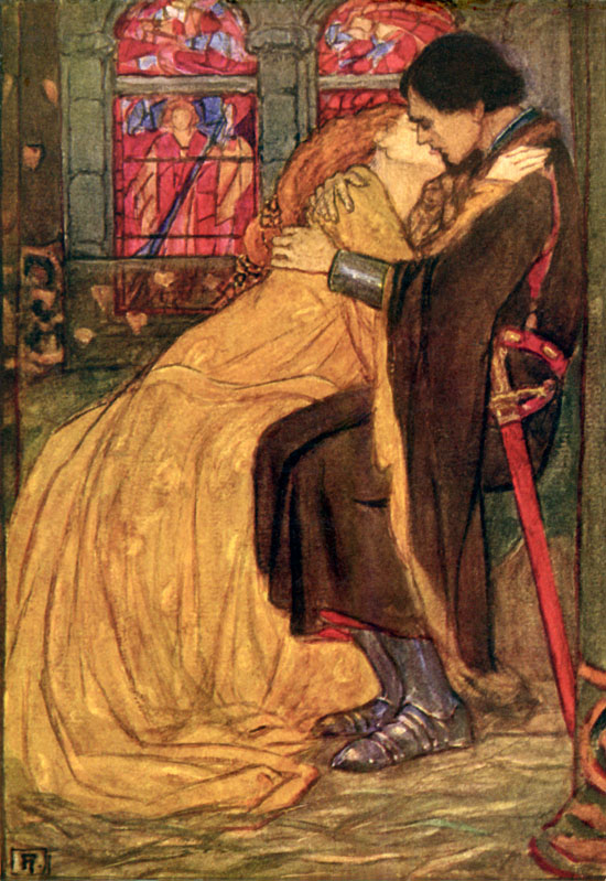 love triangle between king arthur guenevere and lancelot Lancelot - arthur's best knight and the commander of his forces lancelot has a  love affair with guenever, arthur's queen lancelot is a deeply conflicted figure.