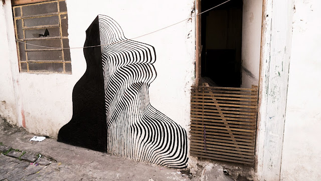 Street Art By 2501 On The Streets Of Sao Paulo Brazil with Herbert Baglione and Marina Zumi. 3