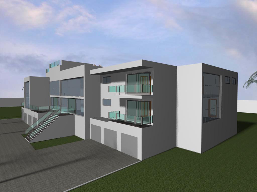 8 bed modern mansion