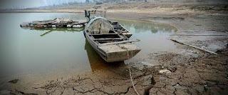 Lluvias resecan el lago de Poyang en China Poyang-lake-600x250