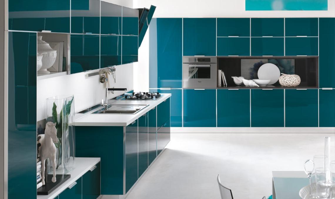 Cocinas modernas en varios colores ideas para decorar - Color de cocinas modernas ...