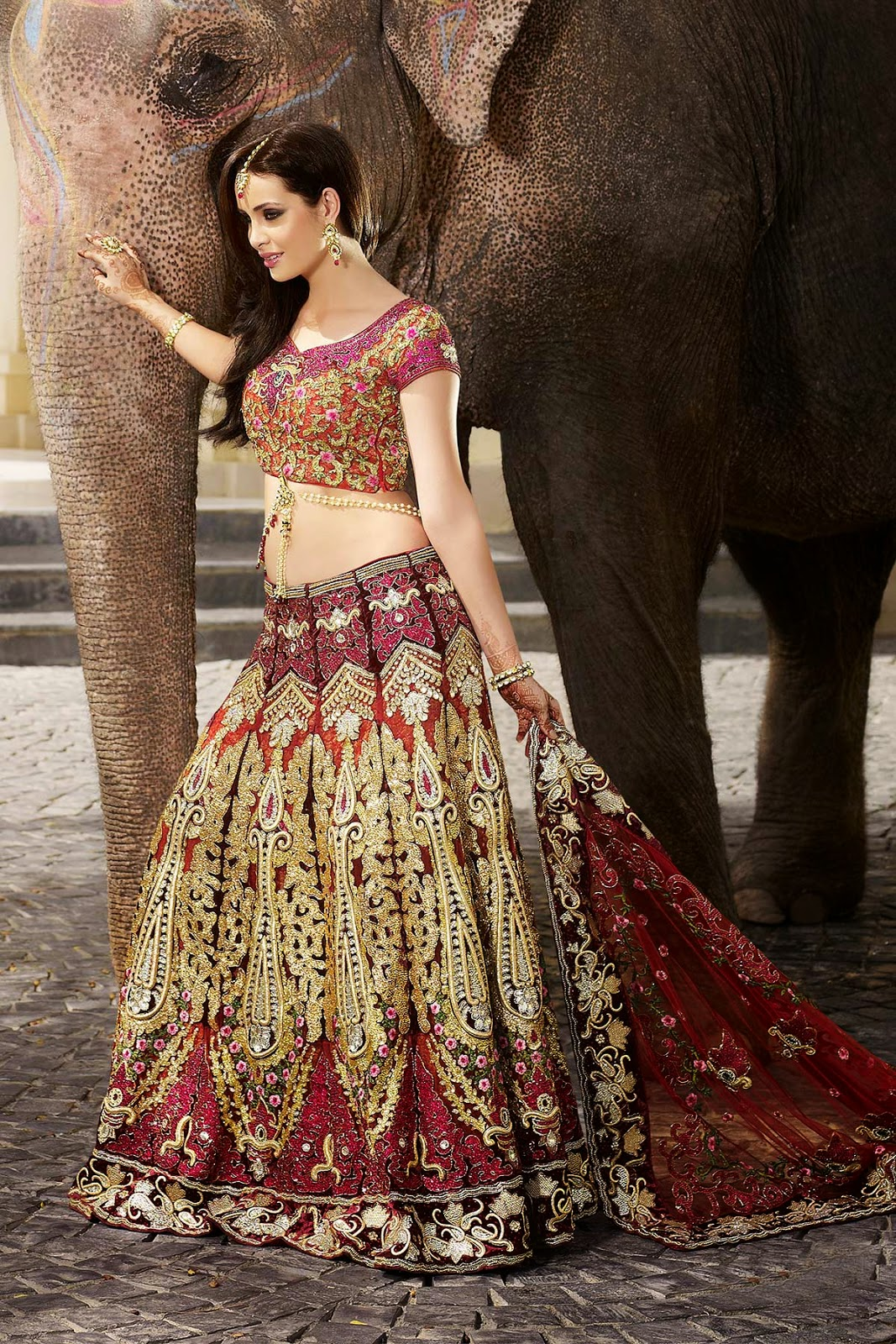 Lengha choli fashion dress 87
